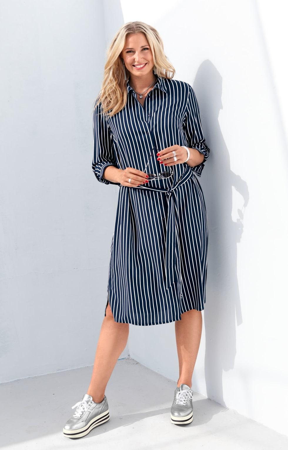 MIAMODA Outfit Blusenkleid