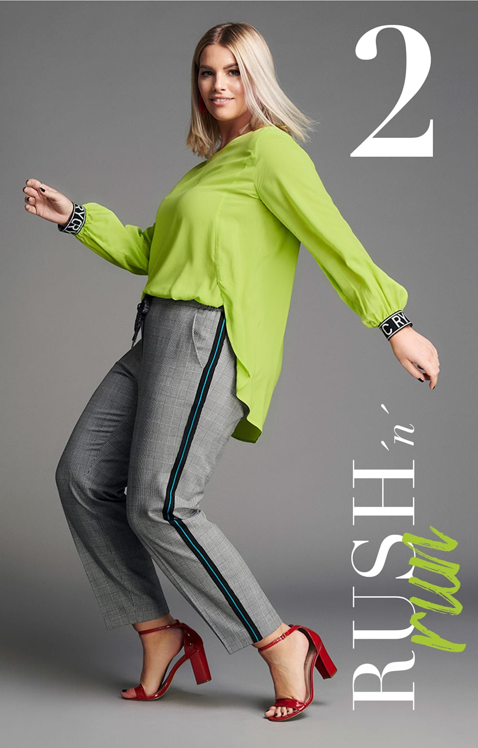 Rush ´n´run  Outfit Angelina Kirsch
