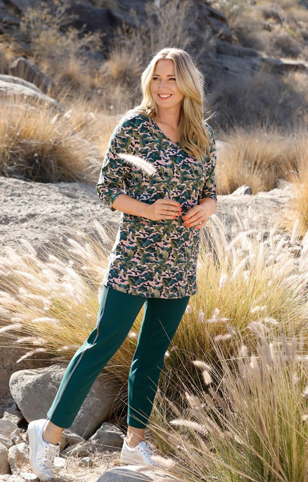 MIAMODA Große Größen Bio Baumwolle Outfits