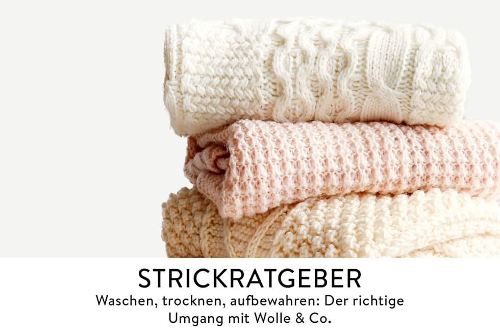 Strickratgeber, Der richtige Umgang mit Wolle & Co