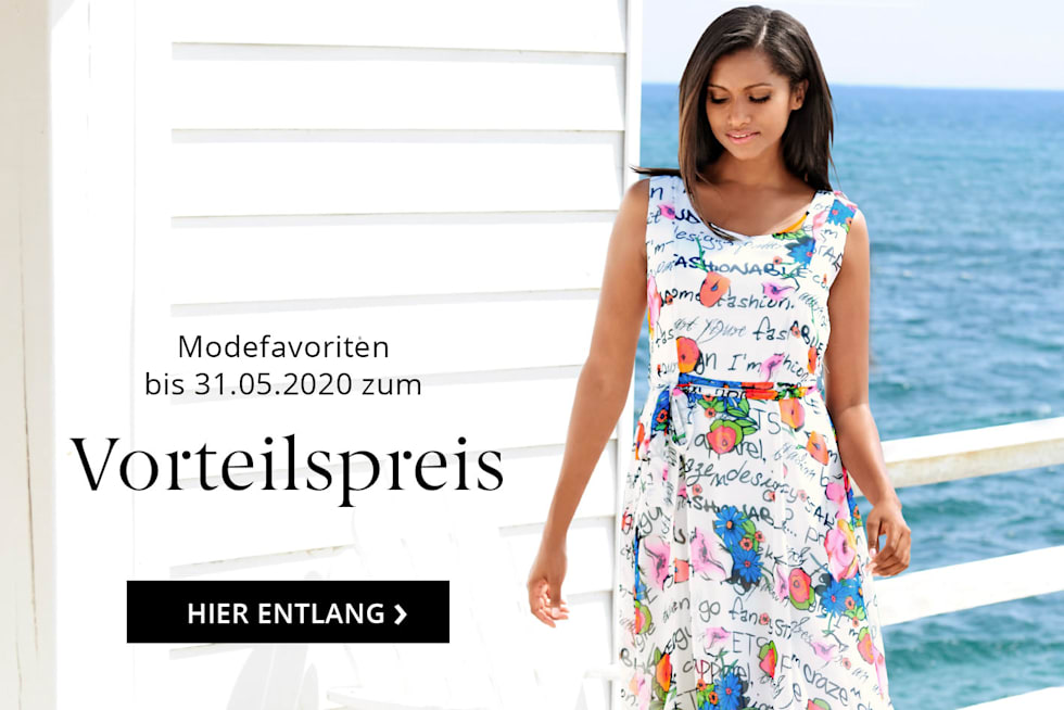 Modefavoriten zum Vorteilspreis sichern