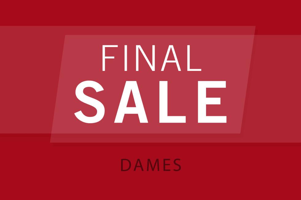 Final Sale Dams