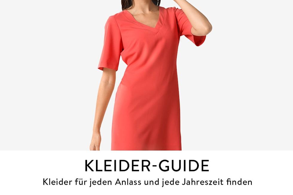 Kleider-Guide, der passende Kleider für jeden Anlass und Jahreszeit aufzeigt