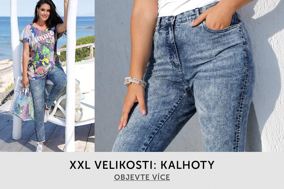 XXL velikosti: Kalhoty