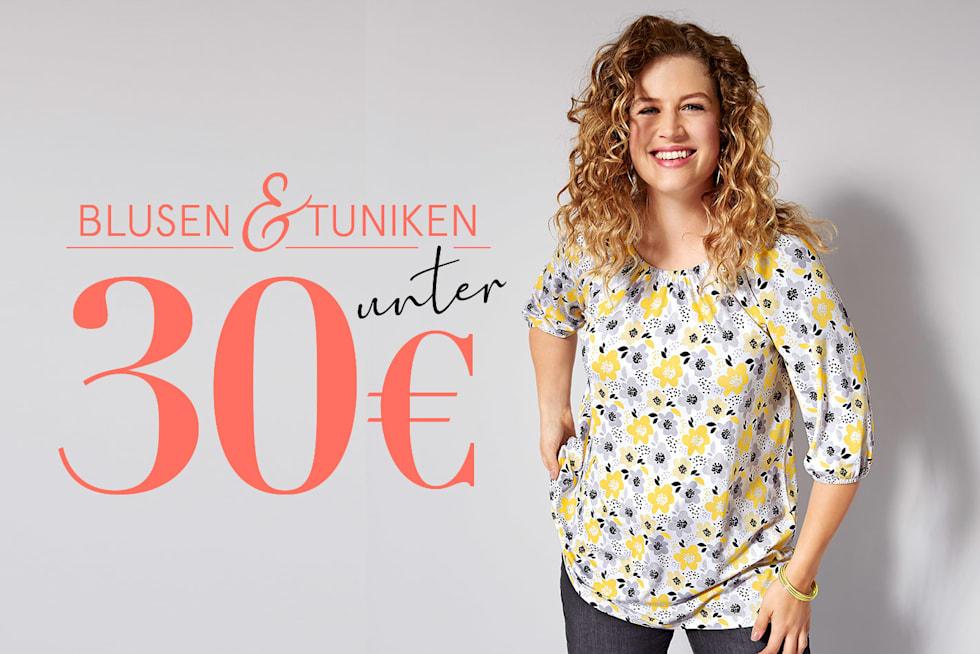 Blusen und Tuniken unter 30€