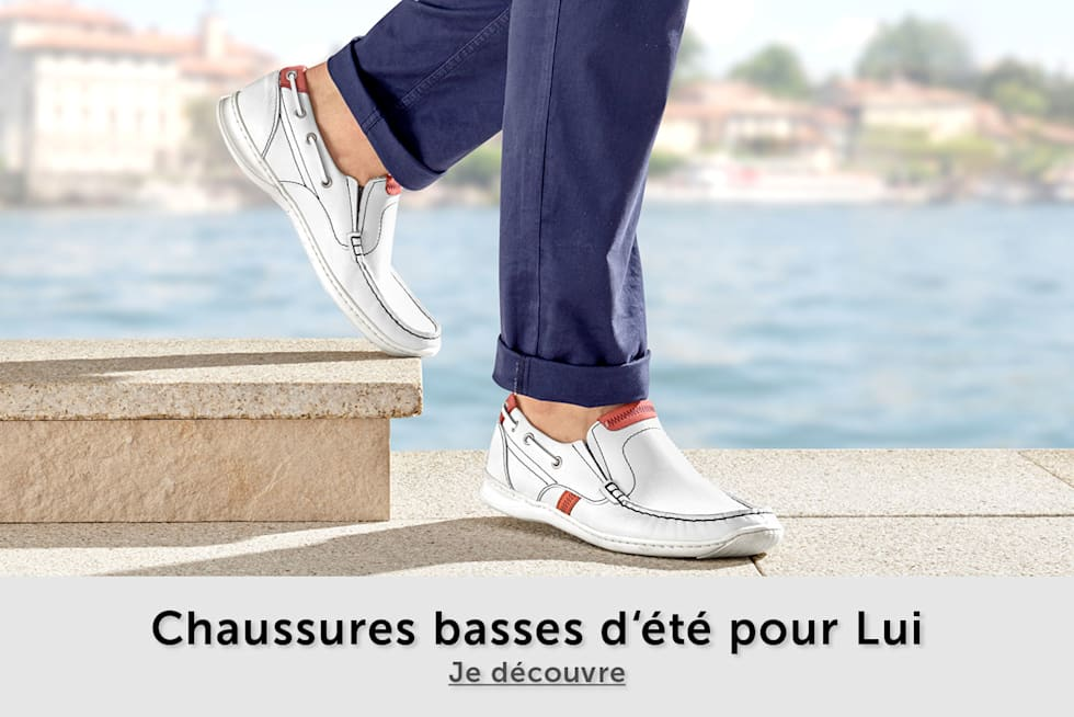 chaussures basses homme