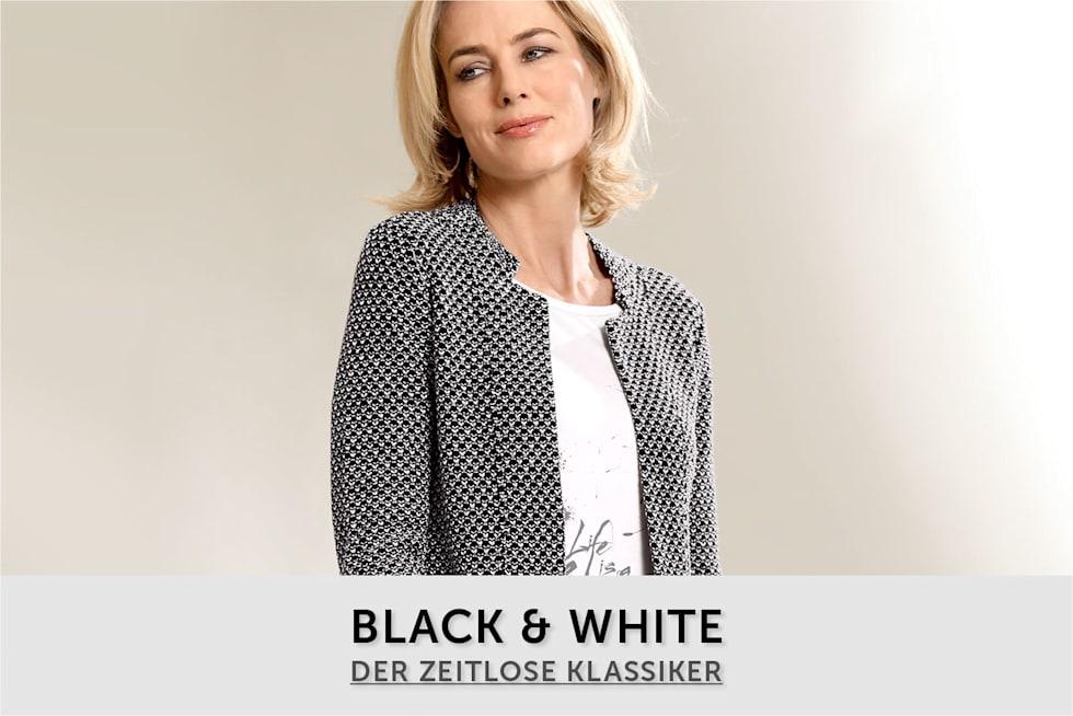 Damen Black and White