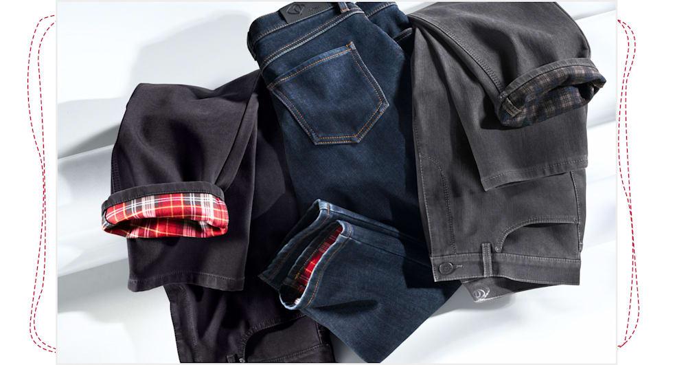 Mode in Flanell-Qualität shoppen