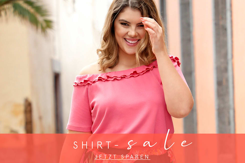 Sale auf Damen Shirts