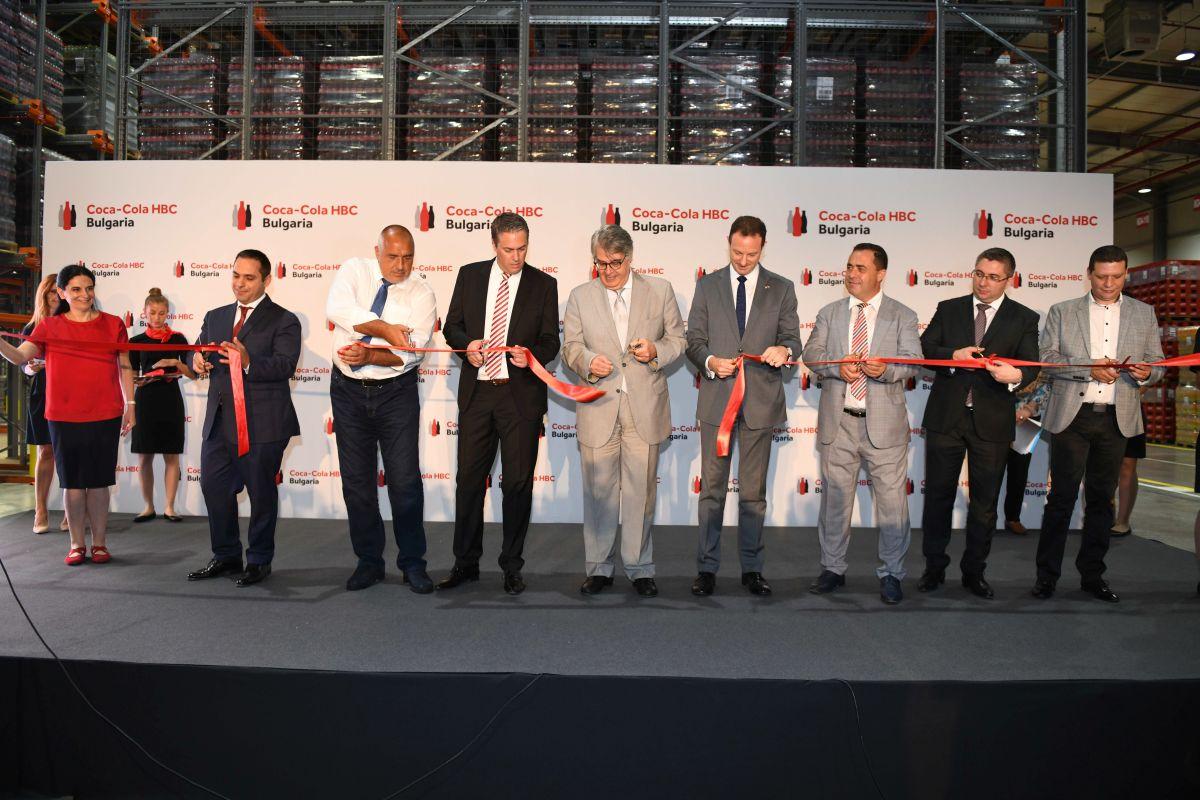 Кока Кола разшири производството си в Костинброд с инвестиция в размер на 40 млн. лева