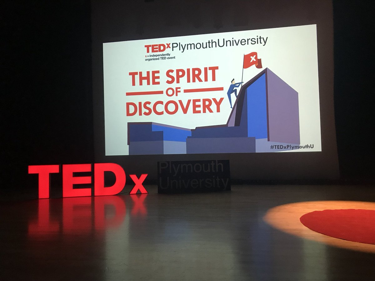 Watch all the videos - TEDxPlymouth University 2018 'The Spirit of Discovery' event