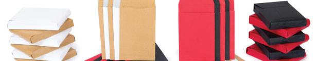Gusset envelopes, Colour gusset envelopes, Manilla gusset envelopes, Tear resistant gusset envelopes, White gusset envelopes