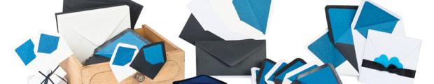 Lined envelopes, Fancy paper lined envelopes, Foil lined envelopes