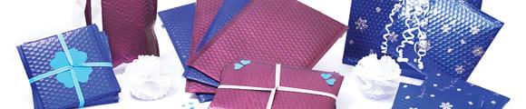 Matte Luftpolster-Versandtaschen - Metallisch, Blaue Metallische Mattierte Luftpolster - Versandtaschen, Dunkel Graue Metallische Matt Luftpolster - Versandtasche, Burgundy Metallische Mattierte Luftpolster - Versandtaschen,