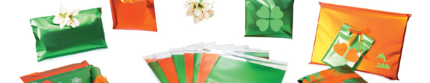 Coloured matt foil bags, 162 x 114 mm (C6) coloured matt foil bags, 165 x 165 mm coloured matt foil bags, 220 x 110 mm (DL) coloured matt foil bags, 250 x 180 mm coloured matt foil bags, 320 x 230 mm coloured matt foil bags