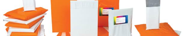 Polyethylene mailing bags, 145x195 mm White Polyethylene Mailing Bag, White,  , Peel and Seal, Polyethylene, 170x245 mm White Polyethylene Mailing Bag, 170x245 mm Dark Orange Polyethylene Mailing Bag, Dark Orange, Orange, 170x245 mm Orange Polyethylene Mailer Bag, 205x245 mm White Polyethylene Mailing Bag, 230x345 mm White Polyethylene Mailing Bag, 230x345 mm Dark Orange Polyethylene Mailing Bag, 285x385 mm White Polyethylene Mailing Bag, 340x445 mm White Polyethylene Mailing Bag, 410x410 mm White Polyethylene Mailing Bag, Square, 430x595 mm White Polyethylene Mailing Bag, 450x525 mm White Polyethylene Mailing Bag, 90x145 mm White Polyethylene Mailing Bag