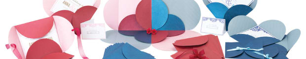 Pouchettes, Butterfly envelopes, Standard pouchettes