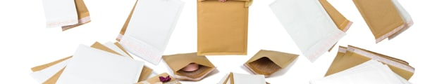 Padded envelopes, Coloured kraft bubble bags, Plain manilla bubble lined bags , Plain white padded envelopes