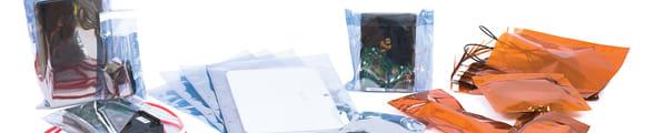 Bolsas antiestáticas, Gris Ahumado Bolsa Antiestática de 130x80 mm, Gris ahumado claro, Autoadhesivo, Polietileno, Gris, Gris Ahumado Bolsa Antiestática de 162x114 mm (C6), C6, Gris Ahumado Bolsa Antiestá