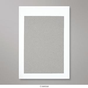 324x229 Mm C4 Enveloppe Blanche Dos Cartonné Et Fenêtre Hb324w