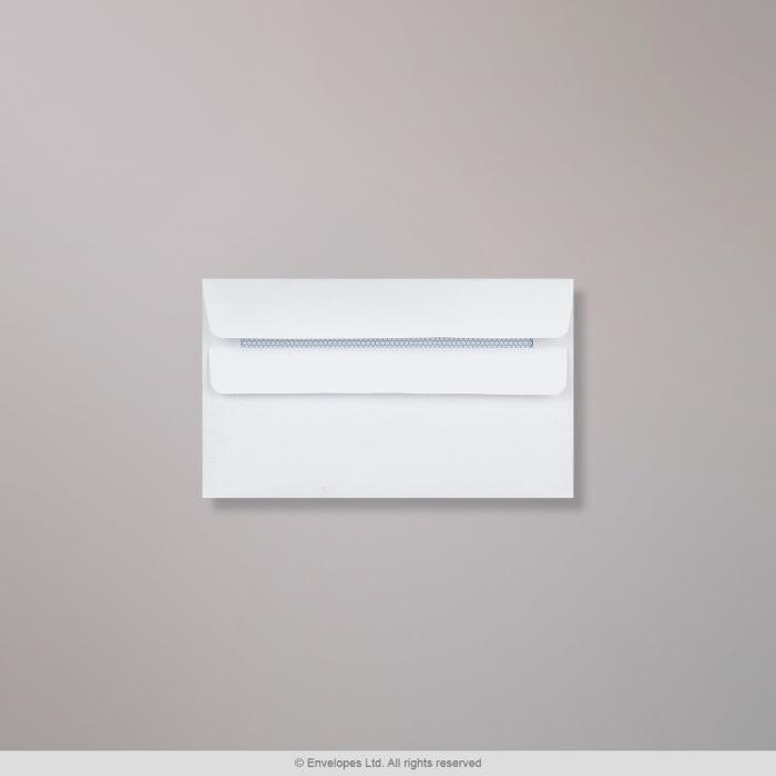 89x152 mm Biała koperta
