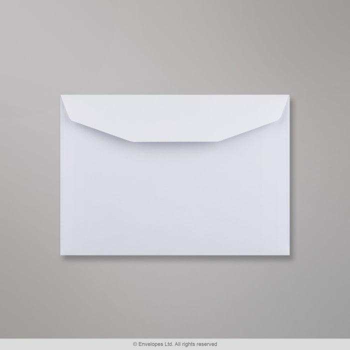Enveloppe blanche 114x162 mm (C6)