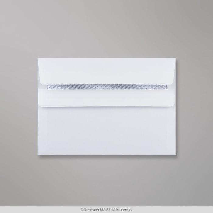 Weißer Briefumschlag 114x162 mm (C6)