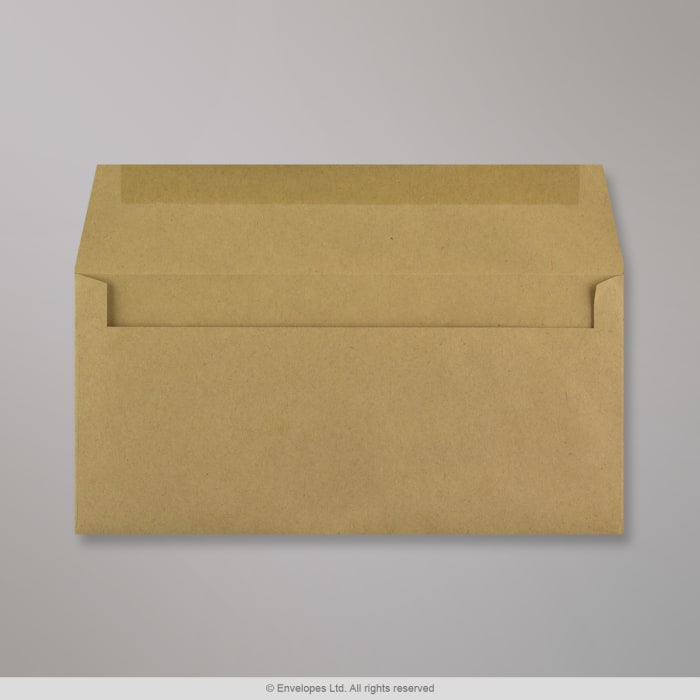 102x216 mm Manilla Gerecycled Envelop