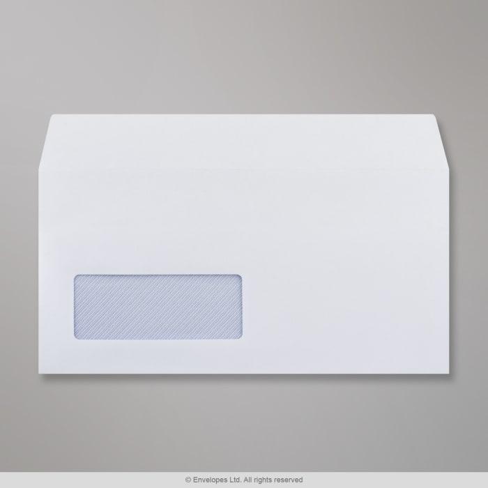 Sobre blanco con ventanilla de 110x220 mm (DL)