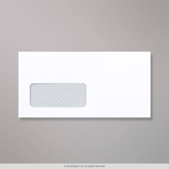 Sobre blanco para impresión láser de 110x220 mm (DL)
