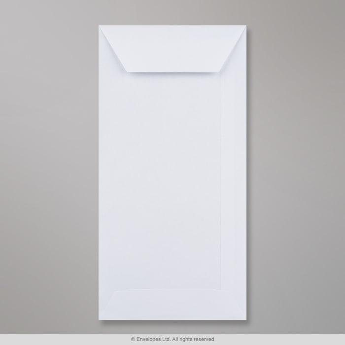 220x110 mm (DL) Biała koperta