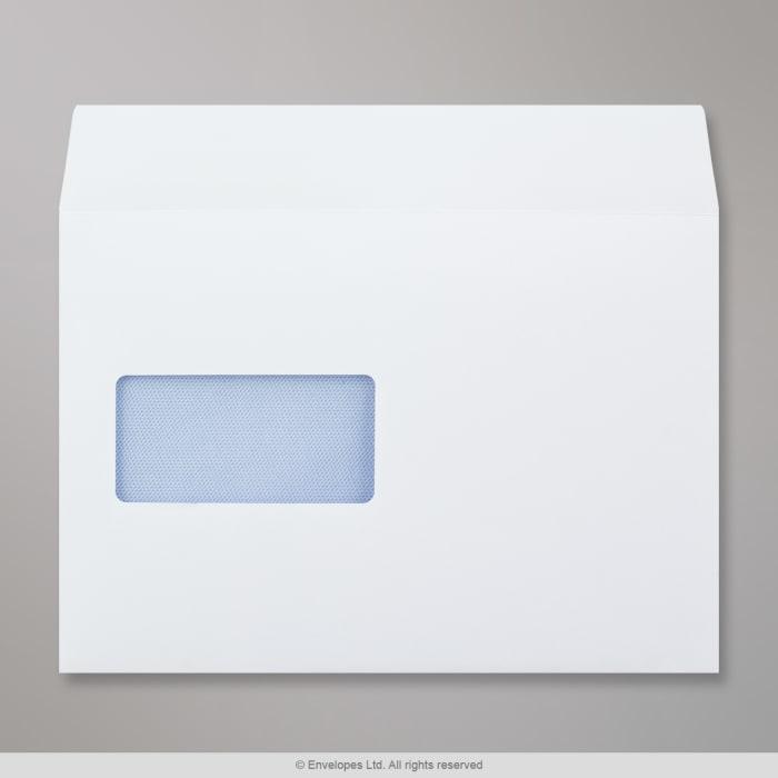 162x229 mm (C5) Busta bianca con finestra