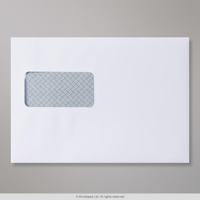 Weißer Laser-bedruckbarer Briefumschlag 162x229 mm (C5)