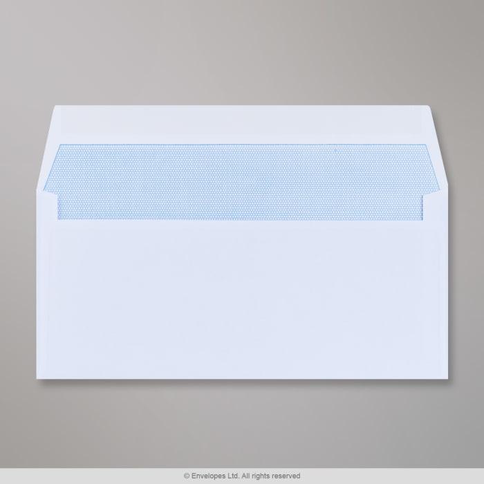 Hvid konvolut 102x216 mm