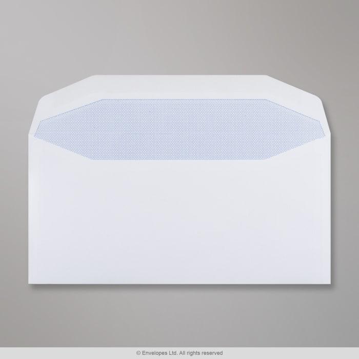 Weißer Briefumschlag 110x220 mm (DL)