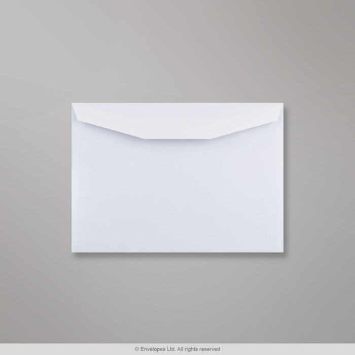 155x220 mm Busta bianca