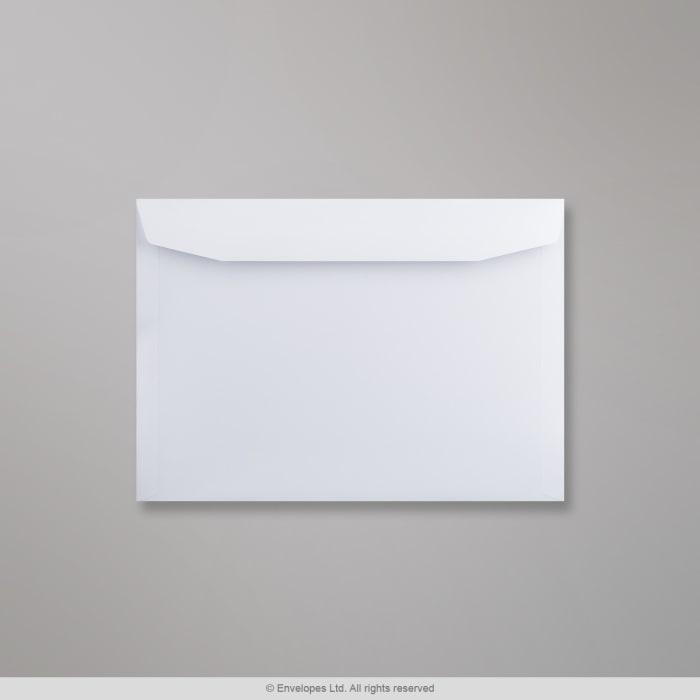 229x324 mm (C4) Biała koperta