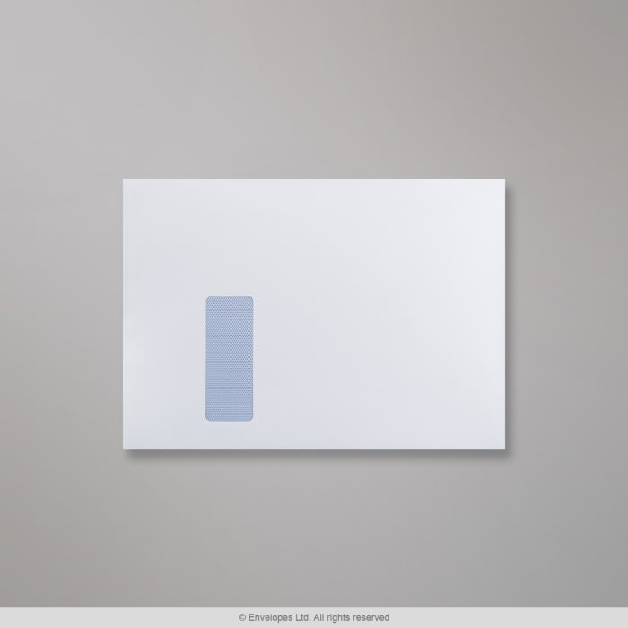 229x324 mm (C4) Witte Envelop