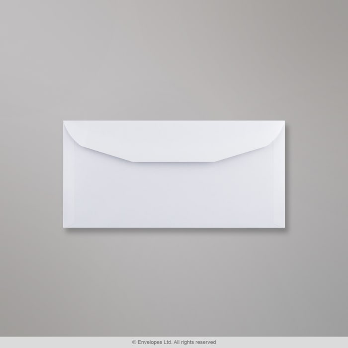 114x235 mm Busta bianca