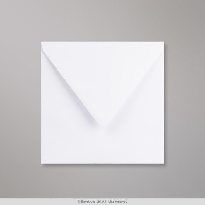 175x175 mm Busta bianca