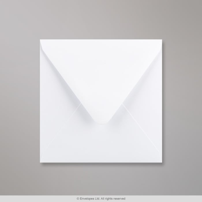 120x120 mm Busta bianca