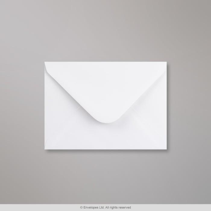 Hvid konvolut 121x171 mm
