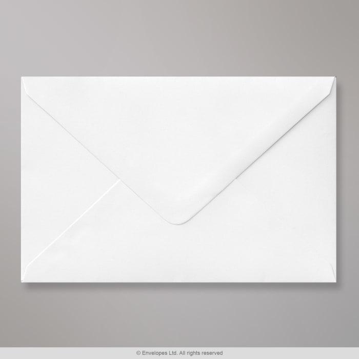 Bílá obálka 121x184 mm