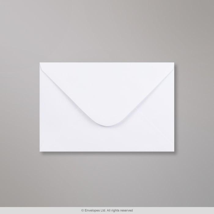 Weißer Briefumschlag 127x190 mm