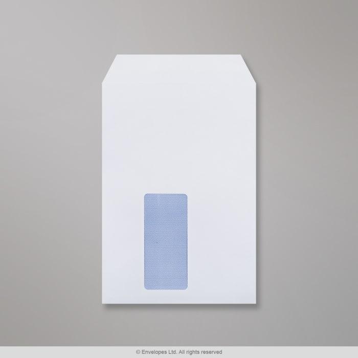 Hvid konvolut 229x162 mm (C5)