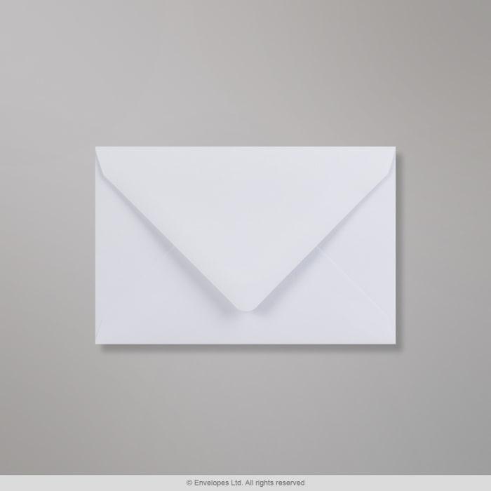 94x143 mm White Envelope