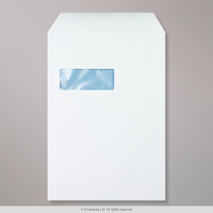 Valkoinen ikkunallinen kirjekuori 324x229 mm (C4)