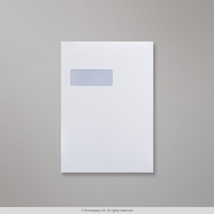 Enveloppe blanche 324x229 mm (C4)