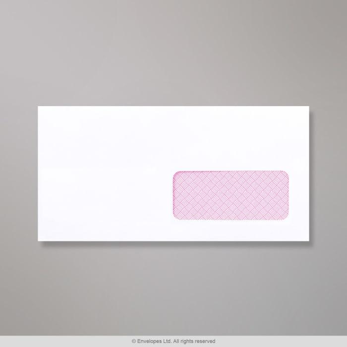 Enveloppe blanche garantie laser 110x220 mm (DL)