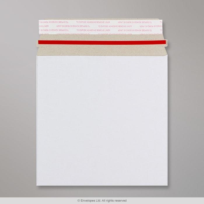 Enveloppe blanche tout en carton 164x164 mm